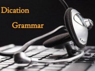Dication Grammar