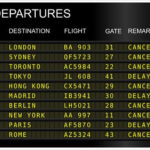 Thinking Fast When Travel Delays or Cancellations Happen