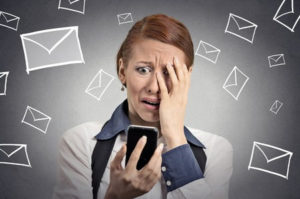 Smart Phone Email Stress