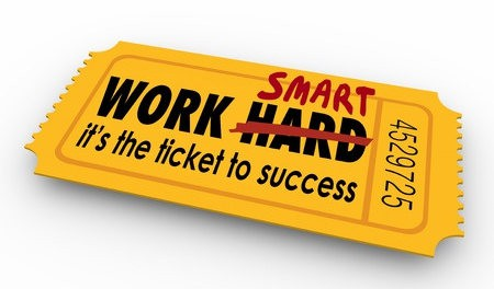 Working Smarter the Ticket to Sucess