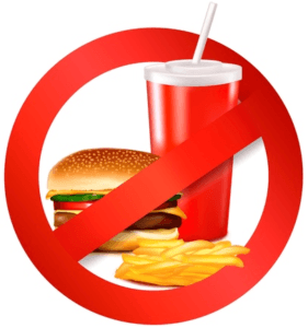 No Drinking Eating